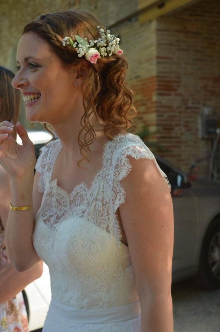 créatrice robe de mariée simple toulouse