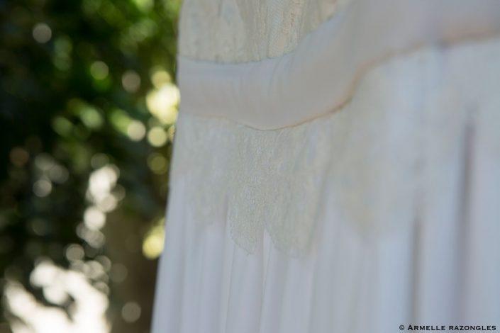 Robe de mariée dentelle pauline starck