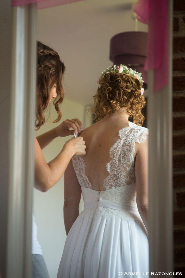 créatrice robe de mariée bohème montauban