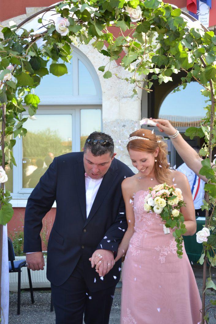créatrice robe de mariée sur mesure Aquitaine
