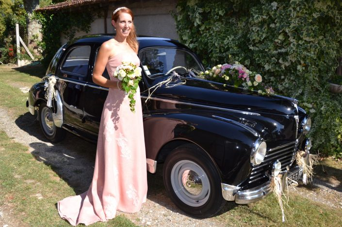 robe de mariée sur mesure vintage aquitaine