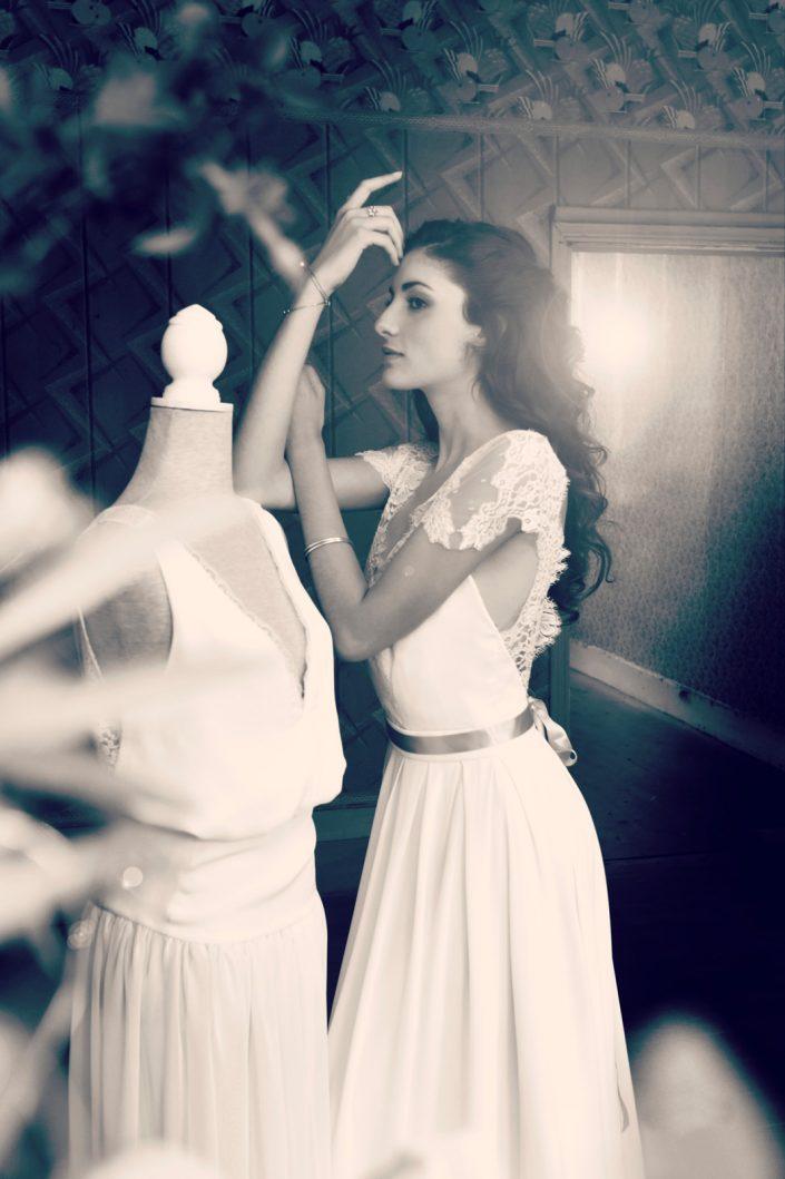 créatrice robe de mariée sur-mesure Toulouse