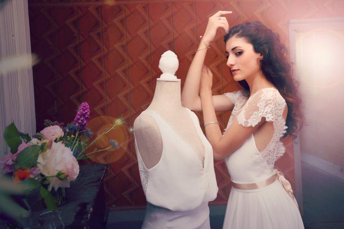 créatrice robe de mariée sur mesure Toulouse haute-garonne